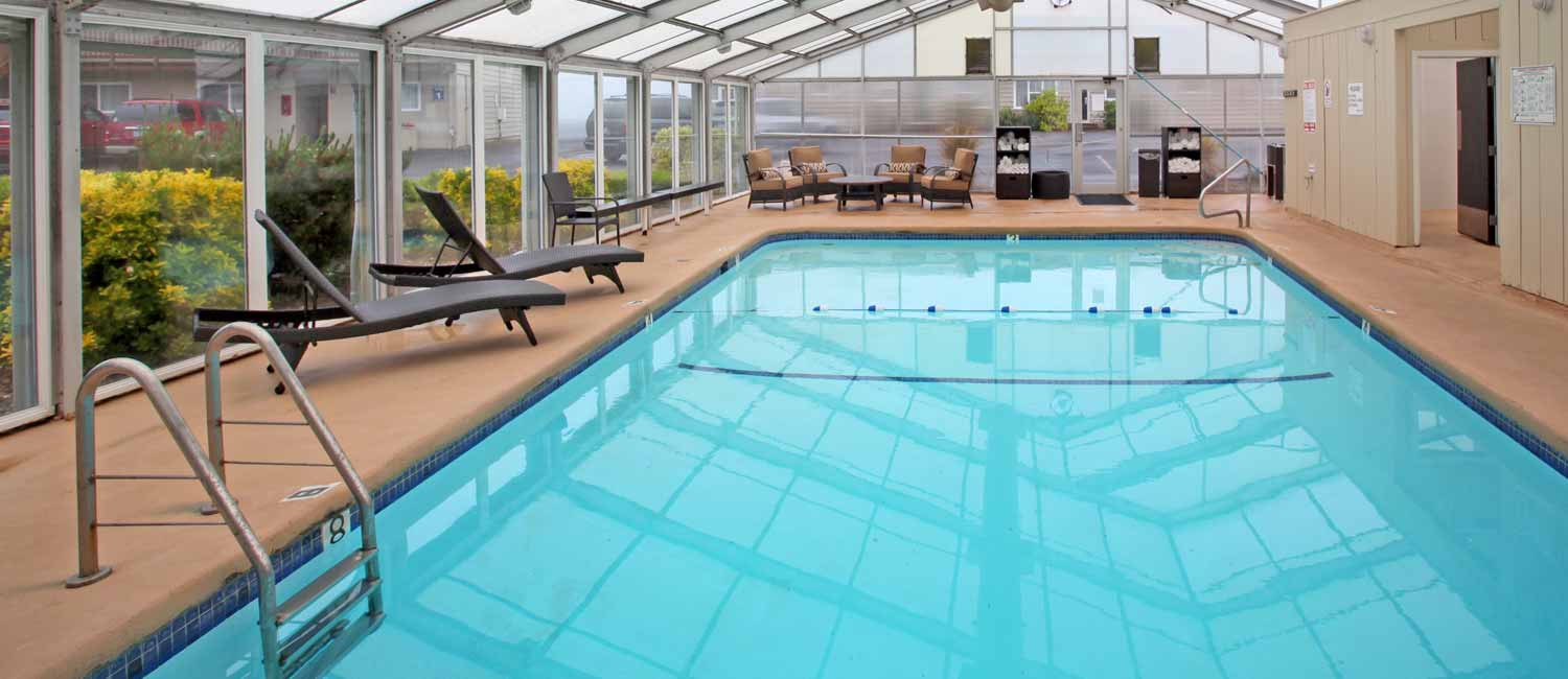 Relax and Enjoy Our Indoor Pool